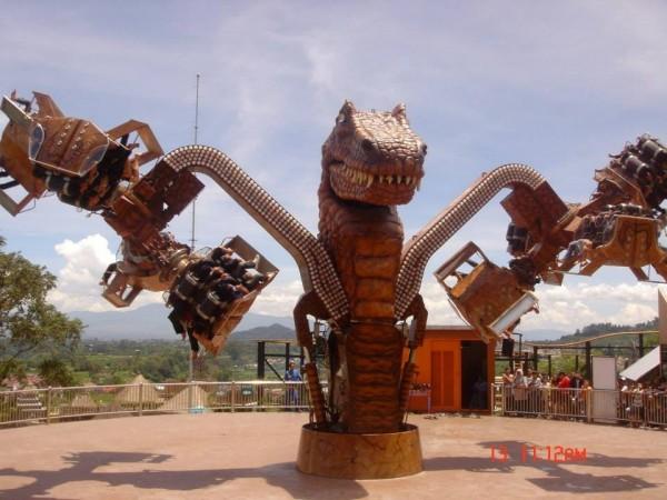 Twin Flip t rex indonesia